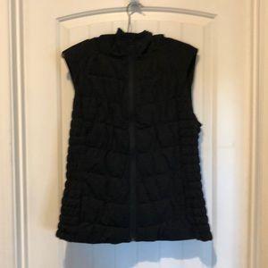 Hooded Dark Gray Vest L